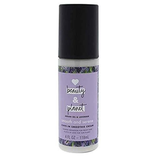 Love Beauty & Planet - Love Beauty Planet Smooth & Serene, Argan Oil & Lavender, Leave-in Smoothie Cream, 4 fl oz (Pack of 2)