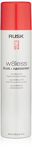 RUSK - RUSK Designer Collection W8less Plus Extra Strong Hairspray, 10 oz.