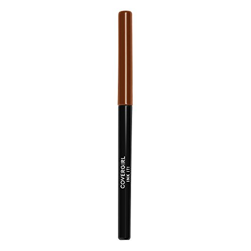 CoverGirl - COVERGIRL Ink It! Perfect Point Plus Waterproof Eyeliner, Cocoa Ink 260 (1 Count) (Packaging May Vary) Self Sharpening Long Lasting Waterproof Eyeliner Pencil