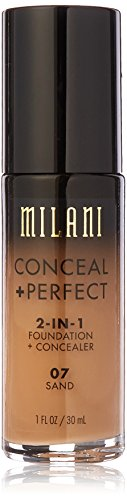 Milani - Milani Conceal + Perfect 2-in-1 Foundation Concealer, Sand, 1.0 Fluid Ounce