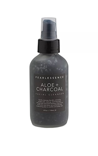 Pearlessence - Aloe & Charcoal Facial Cleanser