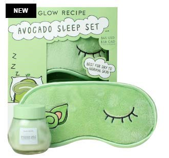 Glow Recipe - NEW GLOW RECIPE Avocado Sleep Set - Great for Traveling and Sleepovers!