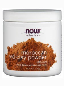 NOW Foods - Red Clay Powder Moroccan