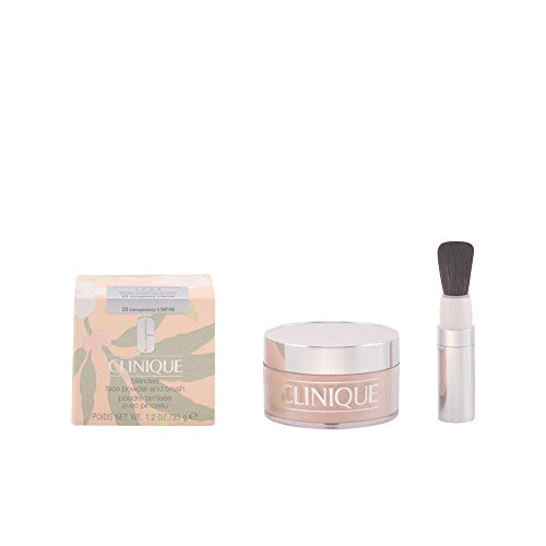Clinique - Blended Face Powder and Brush