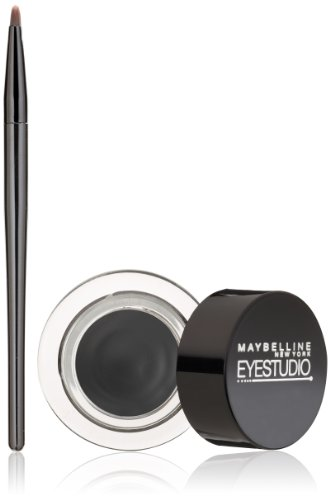 Maybelline New York - Maybelline New York Eye Studio Lasting Drama Gel Eyeliner, Blackest Black 950, 0.106 Ounce