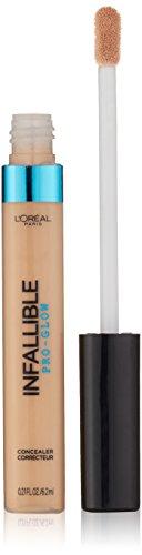 L'Oreal Paris - L'Oreal Paris Cosmetics Infallible Pro Glow Concealer, Nude Beige, 0.21 Fluid Ounce