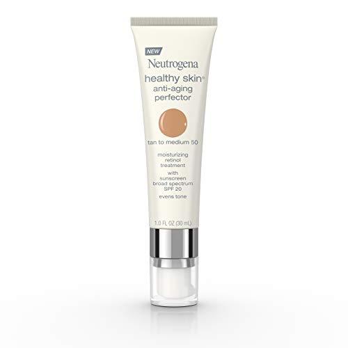 Neutrogena - Neutrogena Healthy Skin Anti-Aging Perfector Spf 20, Retinol Treatment, 50 Tan To Medium, 1 Fl. Oz.