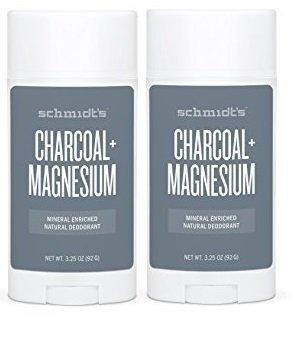 Schmidt's Deodorant Charcoal and Magnesium Aluminum-Free Deodorant