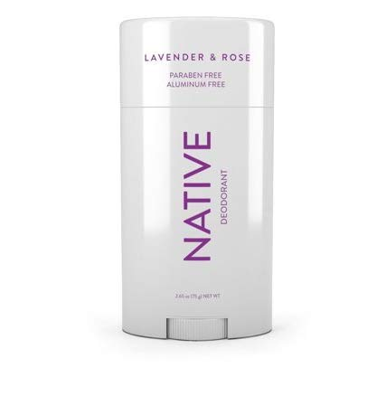 Native - Lavender & Rose Deodorant