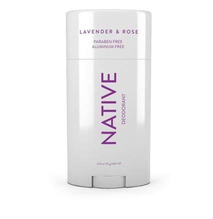 Native - Lavender & Rose Deodorant