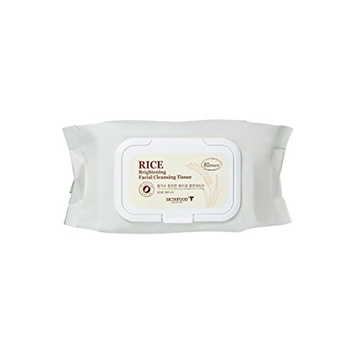 Skinfood - [SKINFOOD] RICE Brightening Facial Cleansing Tissue