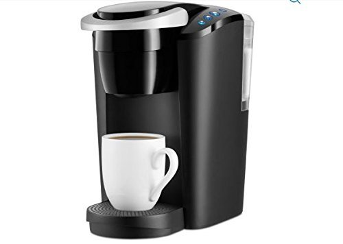 Generic - Keurig K-Compact Single Serve Coffee Brewer Maker in Black with the Slimmest Removable Reservoir features Auto Off and Simple Button Controls
