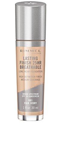 Rimmel - Lasting Finish Breathable Foundation