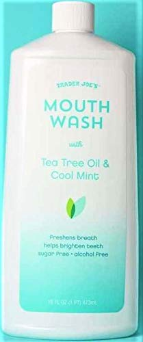 Trader Joe's - Mouthwash with Tea Tree Oil & Cool Mint