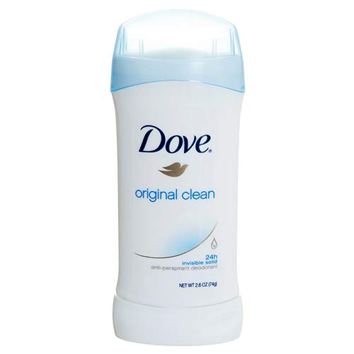 null - Dollaritem New 358878 Dove Deodorant Stick Original Clean 2.6 Oz (-Pack) Deodorant Wholesale Bulk Health & Beauty Deodorant