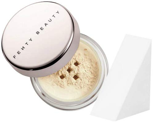 Fenty Beauty - Fenty Beauty Pro Filt'r Setting Powder Travel Size, Butter (Free Cosmetic Wedge Sponge Included)