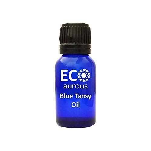 Eco Aurous - Blue Tansy Oil 100% Natural, Organic, Vegan & Cruelty Free Blue Tansy Essential Oil by Eco Aurous (10ml (0.33oz))