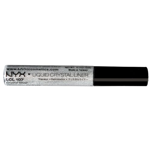 NYX - Makeup Liquid Crystal Liner, Crystal Silver