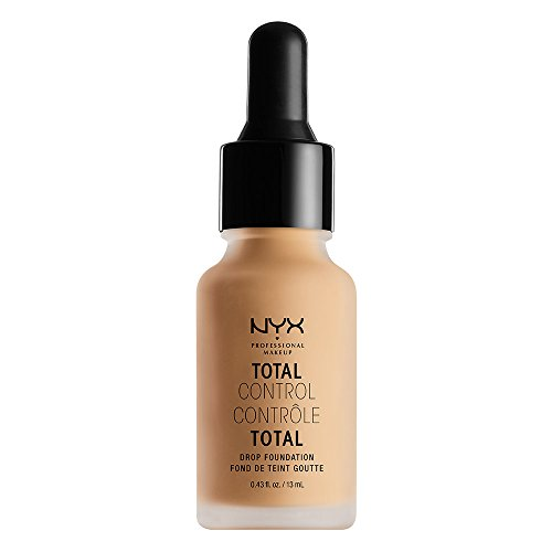 NYX Nyx Professional Makeup Total Control Drop Foundation, True Beige, 0.43 Fluid Ounce