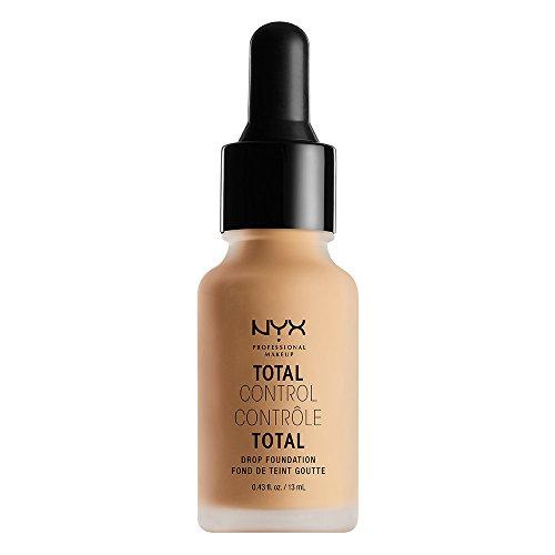 NYX - Nyx Professional Makeup Total Control Drop Foundation, True Beige, 0.43 Fluid Ounce