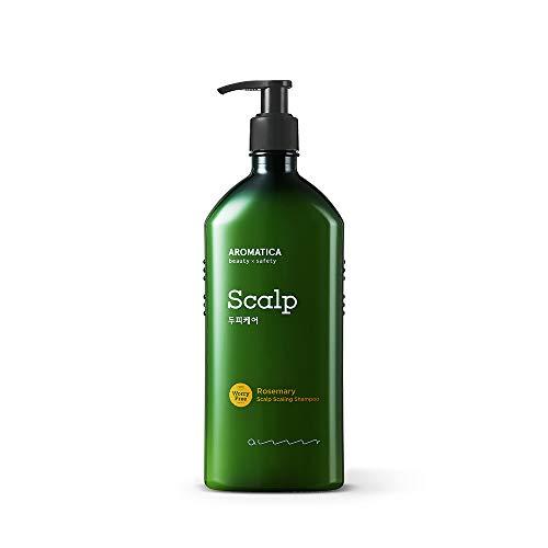 AROMATICA - AROMATICA Rosemary Scalp Scaling Shampoo 400ml Net 13.5 fl oz.