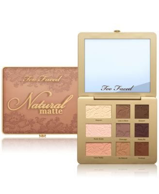 Too Faced - Natural Matte Eye Shadow Palette