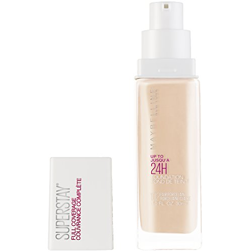 Maybelline New York - Maybelline SuperStay Full Coverage Foundation, Fair Porcelain, 1 fl. oz.