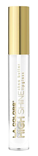 L.A. Colors - High Shine Shea Butter Lip Gloss, Clear