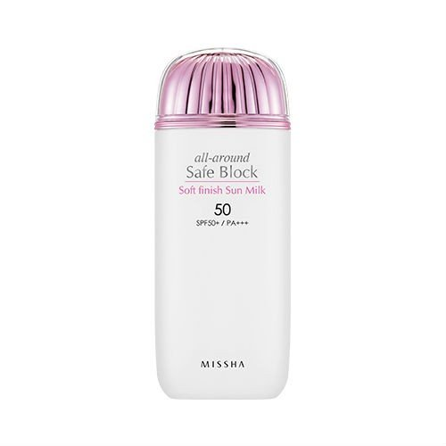 MISSHA - Missha All Around Safe Block Soft Finish Sun Milk SPF50+/PA+++ (70ml)