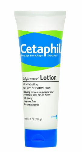Cetaphil - Cetaphil DailyAdvance Ultra Hydrating Lotion for Dry/Sensitive Skin 8 oz ( Pack of 2)
