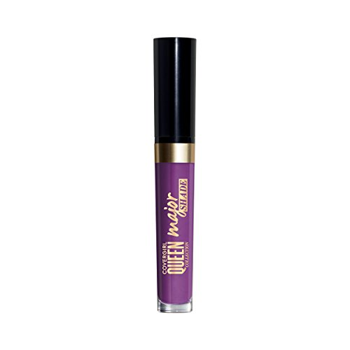 COVERGIRL - COVERGIRL Queen Collection Major Shade Matte Liquid Lipstick, Major Moment,0.11 Fl.oz (packaging may vary)