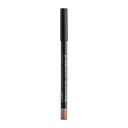 NYX PROFESSIONAL MAKEUP - NYX PROFESSIONAL MAKEUP Metallic Eyeliner, Rose Gold, 0.048 Ounce