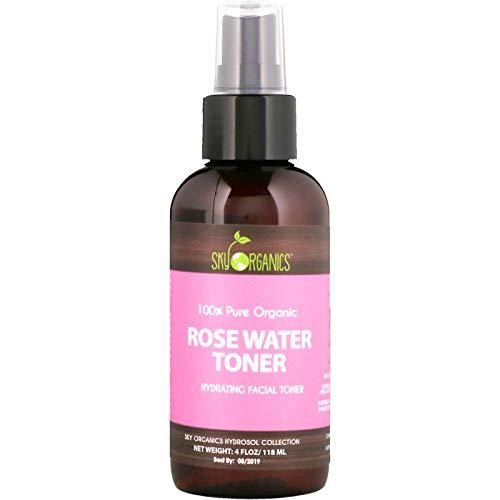 Sky Organics - Pure Organic Rose Water Toner