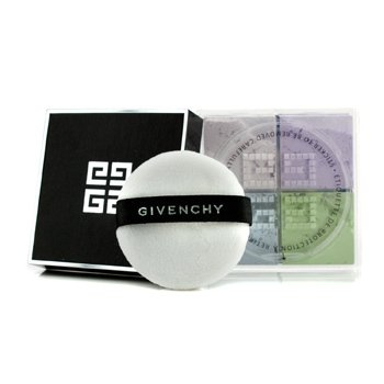 Givenchy - Givenchy Prisme Libre Loose Powder 4 In 1 Harmony # 1 Mousseliine Pastel 4X3g/0.42Oz