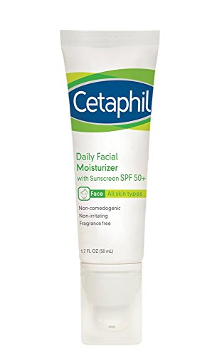 Cetaphil - Daily Facial Moisturizer with Sunscreen, SPF 50+
