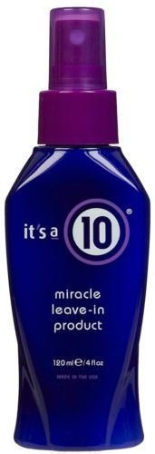 It's a 10 Its a 10 By It's a Ten Miracle Leave in Product 4 Oz New Ships Fast