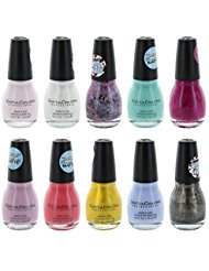 Beauty Brags - Sinful Colors Finger Nail Polish Color Lacquer Set 10-Piece Collection (Shine)