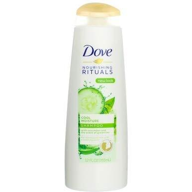 Dove - Dove Cool Moisture Shampoo, Cucumber & Green Tea 12 oz (Pack of 3)