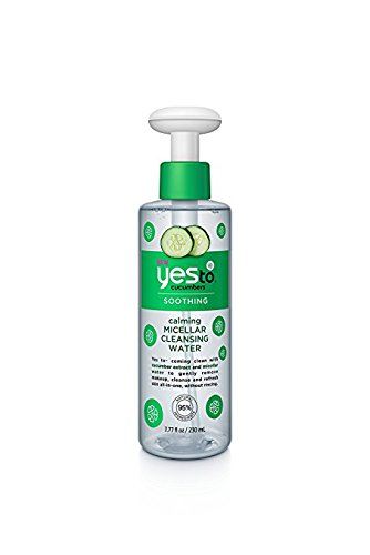null - Yes to Cucumbers Calming Micellar Cleansing Water, 7.77 fl oz (Pack of 2)