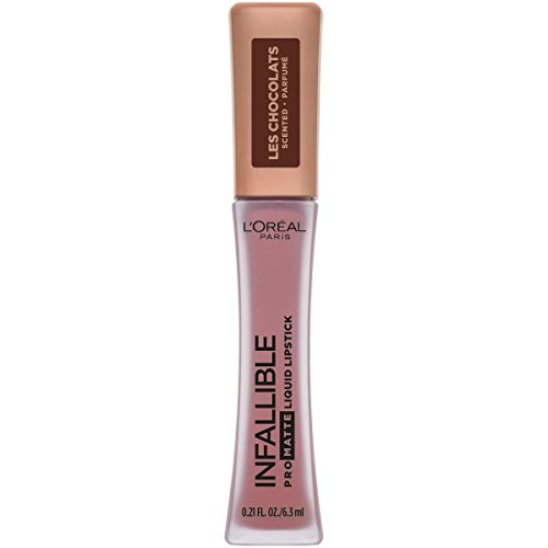 L'Oreal Paris Infallible Pro Matte Les Chocolats Scented Liquid Lipstick, Candy Man