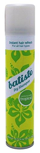 Batiste - Batiste Dry Shampoo, Tropical, 6.73 Ounce (packaging May Vary)