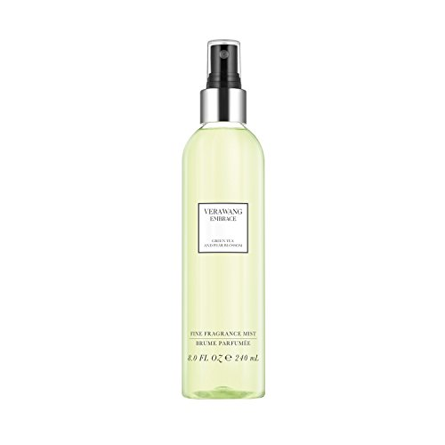 Vera Wang - Vera Wang Embrace Body Mist for Women Green Tea and Pear Blossom Scent 8 Fluid Oz. Body Mist Spray. Bright, Modern, Classic Fragrance
