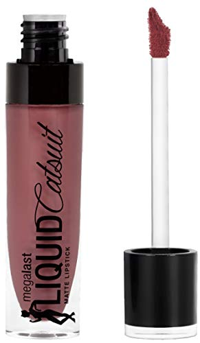 Wet 'n Wild Megalast Liquid Catsuit Lipstick, Rebel Rose