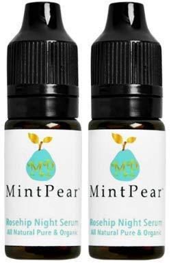 MP Mint Pear - Mint Pear Rosehip Night Serum Travel Size, Set of 2