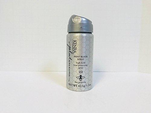 Kenra - Kenra Platinum #22 High Hold Heat Block Spray - 1.5oz TRAVEL SIZE