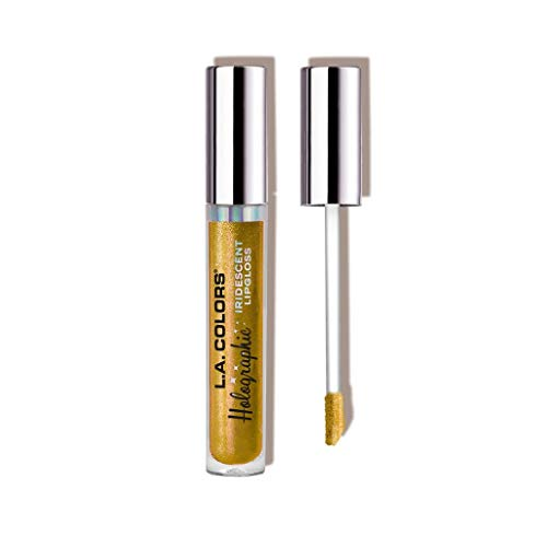 L.A. COLORS - L.A. Colors Holographic Iridescent Lipgloss, 0.14 Ounce - Gold Rush