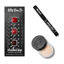 Kat Von D - Tattoo Liner, Setting Powder, and Lipstick Set