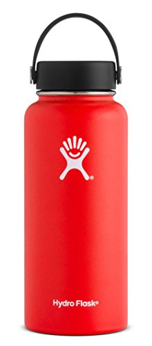 Hydro Flask - 40 oz Double Wall Vacuum Insulated Stainless Steel Leak Proof Sports Water Bottle
