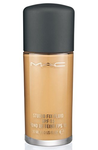 MAC - MAC Studio Fix Fluid Foundation SPF15 NC15 - Pack of 6