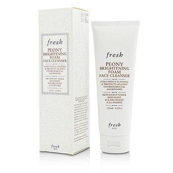 Fresh Fresh Peony Brightening Foam Face Cleanser, 4.2 Ounce